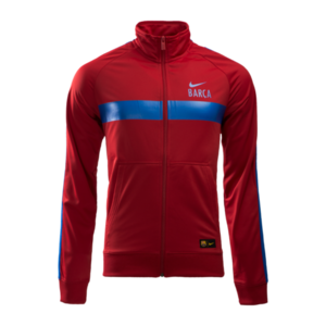 [해외][Order] 16-17 Barcelona Core Trainer Jacket (Gym Red/Sport Royal)