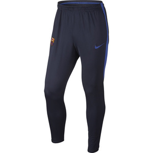 [해외][Order] 16-17 Barcelona  Boys Squad Pant (Obsidian/Game Royal) - KIDS