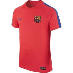 [해외][Order] 16-17 Barcelona  Boys Dry Squad Top  (Bright Crimson/Game Royal) - KIDS
