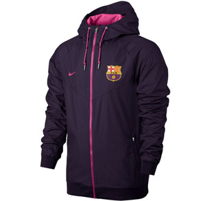 [해외][Order] 16-17 Barcelona Authentic Woven Windrunner (Gym Red/Sport Royal/University Gold)