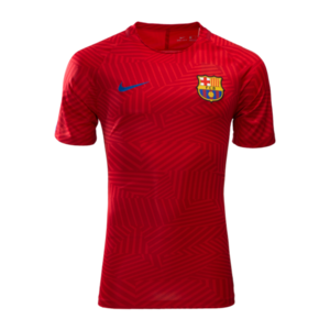 [해외][Order] 16-17 Barcelona Dry Squad Top (University Red/Sport Royal)