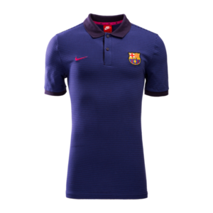 [해외][Order] 16-17 Barcelona Authentic Slim Polo (Purple Dynasty/Deep Night/Vivid Pink)