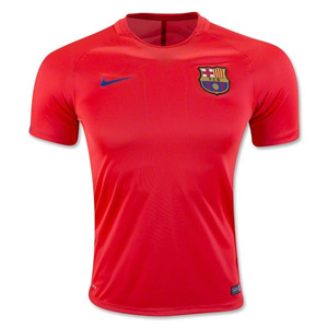[해외][Order] 16-17 Barcelona Dry Squad Top (Bright Crimson/Game Royal)