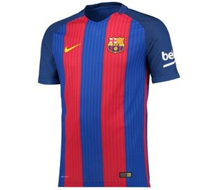 [해외][Order] 16-17 Barcelona  Boys Home Stadium (Sport Royal/Gym Red/University Gold) - KIDS