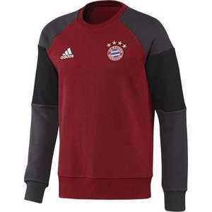[해외][Order] 16-17 Bayern Munchen Sweat Top - Victory Red