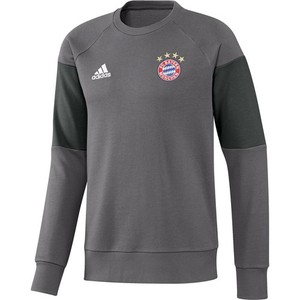 [해외][Order] 16-17 Bayern Munchen  Boys Sweat Top (Granite/Solid Grey) - KIDS