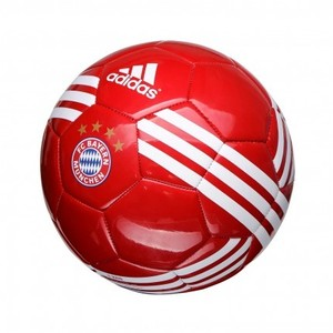 [해외][Order] 16-17 Bayern Munich Ball - True Red/White/Gold Metallic