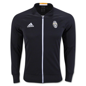 16-17 Juventus Anthem Jacket - Black/White/Collegiate Gold
