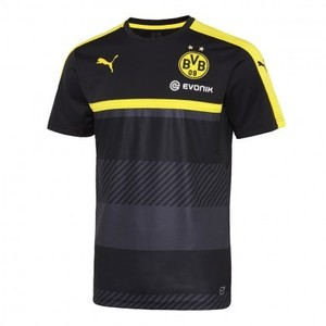 [해외][Order] 16-17  Borussia Dortmund(BVB) Boys Training Jersey (Black/Cyber Yellow) - KIDS