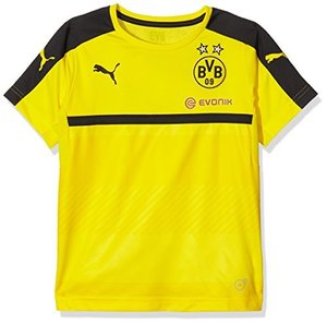 [해외][Order] 16-17  Borussia Dortmund(BVB) Boys Training Jersey (Cyber Yellow/Black) - KIDS
