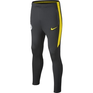 [해외][Order] 16-17 Manchester City Boys Squad Pant  (Anthracite/Opti Yellow) - KIDS