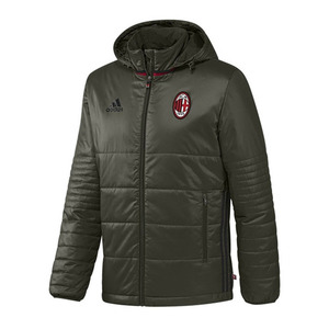 [해외][Order] 16-17 AC Milan Padded Jacket - Night Cargo/Black/Victory Red