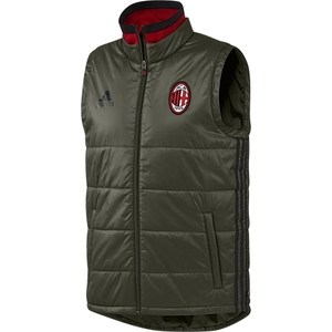 [해외][Order] 16-17 AC Milan Padded Vest - Night Cargo/Black/Victory Red