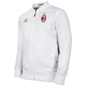 [해외][Order] 16-17 AC Milan Anthem Jacket - Victory Red/Black