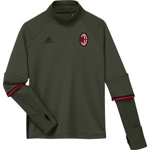 [해외][Order] 16-17 AC Milan  Boys Training Top (Night Cargo/Black/Victory Red) - KIDS