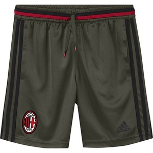 [해외][Order] 16-17 AC Milan Boys Training Shorts (Night Cargo/Black/Victory Red) - KIDS