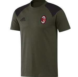 [해외][Order] 16-17 AC Milan Training Tee - Night Cargo/Black/Victory Red