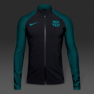 [해외][Order] 16-17 Barcelona Strike Track Jacket - Black/Energy/Energy
