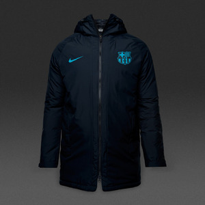 [해외][Order] 16-17 Barcelona Squad Jacket - Black/Energy/Energy