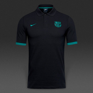 [해외][Order] 16-17 Barcelona NSW Polo Crest - Black/Energy