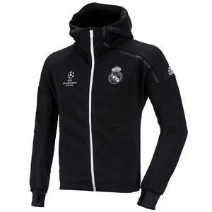 16-17 Real Madrid (RCM) UCL(UEFA Champions League) Anthem ZNE DayBreaker Jacket - Black/Crystal White