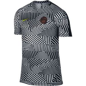 [해외][Order] 16-17 Paris Saint-Germain Dry Top SS Squad Gx - White/Black