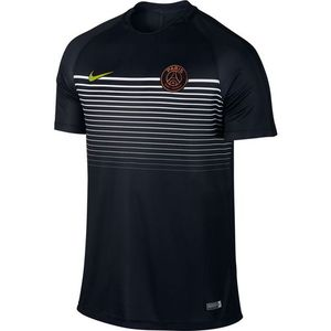 [해외][Order] 16-17 Paris Saint-Germain Top SS Squad Top - Black/Black