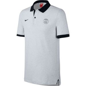 [해외][Order] 16-17 Paris Saint-Germain Polo Authentic - Birch Heather/Black