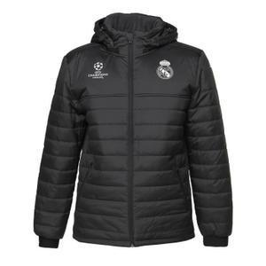 [해외][Order] 16-17 Real Madrid UCL(UEFA Champions League) Padded Jacket - Carbon/Black