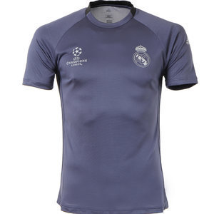 [해외][Order] 16-17 Real Madrid(RCM) UCL(UEFA Champions League) Training Shirt - Super Purple/Black