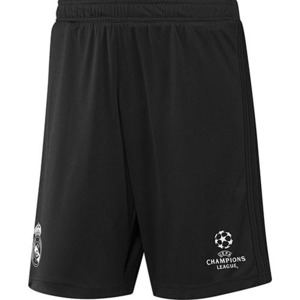 [해외][Order] 16-17 Real Madrid UCL(UEFA Champions League) Training Shorts - Black/Super Purple