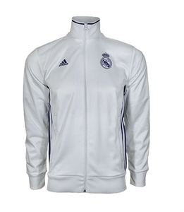 [해외][Order] 16-17 Real Madrid  3 Stripe Track Top - Crystal White/Raw Purple