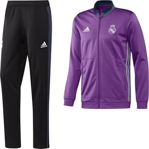 [해외][Order] 16-17 Real Madrid Boys Presentation Suit(Ray Purple/Crystal White) - KIDS