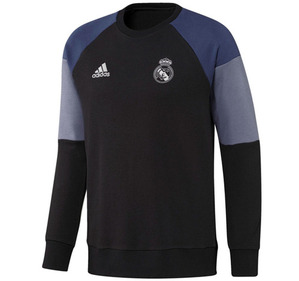 [해외][Order] 16-17 Real Madrid(RCM) Sweat Top - Black/Raw Purple