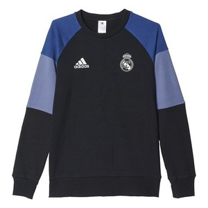 [해외][Order] 16-17 Real Madrid(RCM) Boys Sweat Top (Black/Raw Purple) - KIDS