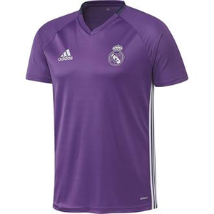 [해외][Order] 16-17 Real Madrid(RCM) Boys Training Shirt (Ray Purple/Crystal White) - KIDS