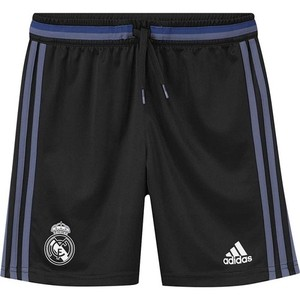 [해외][Order] 16-17 Real Madrid  Boys Training Shorts (Black/Super Purple) - KIDS