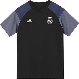 [해외][Order] 16-17 Real Madrid(RCM) Boys Tee(Black/Raw Purple) - KIDS