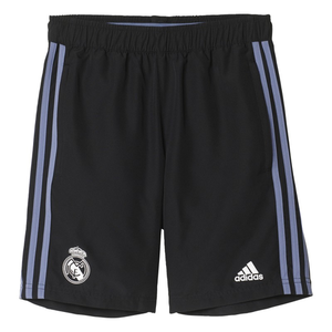 [해외][Order] 16-17 Real Madrid  Boys Woven Shorts (Black/Super Purple) - KIDS