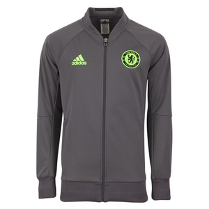 [해외][Order] 16-17 Chelsea(CFC) Anthem Jacket - Granite/Solar Yellow/Black