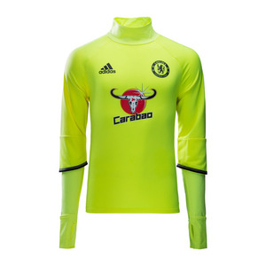 [해외][Order] 16-17 Chelsea(CFC) Training Top - Solar Yellow/Black/Granite