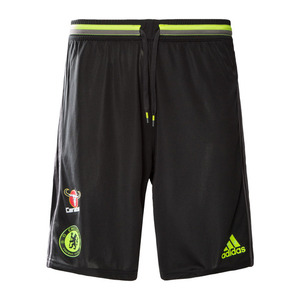 [해외][Order] 16-17 Chelsea(CFC) Training Shorts - Black/Granite/Solar Yellow