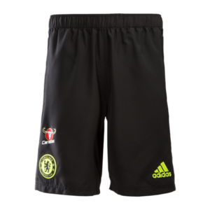 [해외][Order] 16-17 Chelsea(CFC)  Woven Shorts - Black/Granite/Solar Yellow