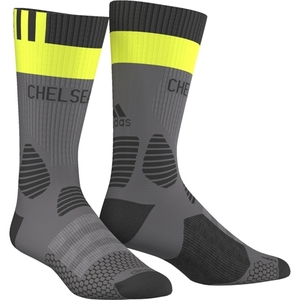[해외][Order] 16-17 Chelsea(CFC) Training Socks - Granite/Solar Yellow/Black