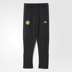 [해외][Order] 16-17 Chelsea(CFC) Boys Presentation Pant (Black/Granite/Solar Yellow) - KIDS