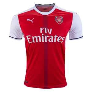 [해외][Order] 16-17 Arsenal Home - AUTHENTIC