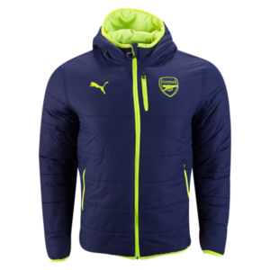 [해외][Order] 16-17 Arsenal Reversible Jacket 3rd - Safety Yellow/Peacoat