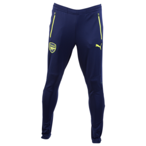 [해외][Order] 16-17 Arsenal Training Pant With Zip Pockets - Peacoat/Safety Yellow