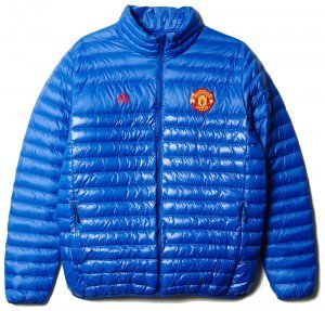 [해외][Order] 16-17 Manchester United Light Down Jacket - Collegiate Royal/Collegiate Royal/Real Red