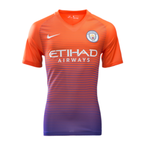 [해외][Order] 16-17 Manchester City UCL (UEFA Champions League) Vapor Match 3rd Jersey - AUTHENTIC